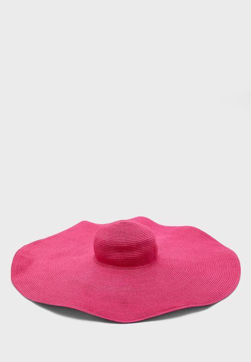 Straw Wide Brim Hat
