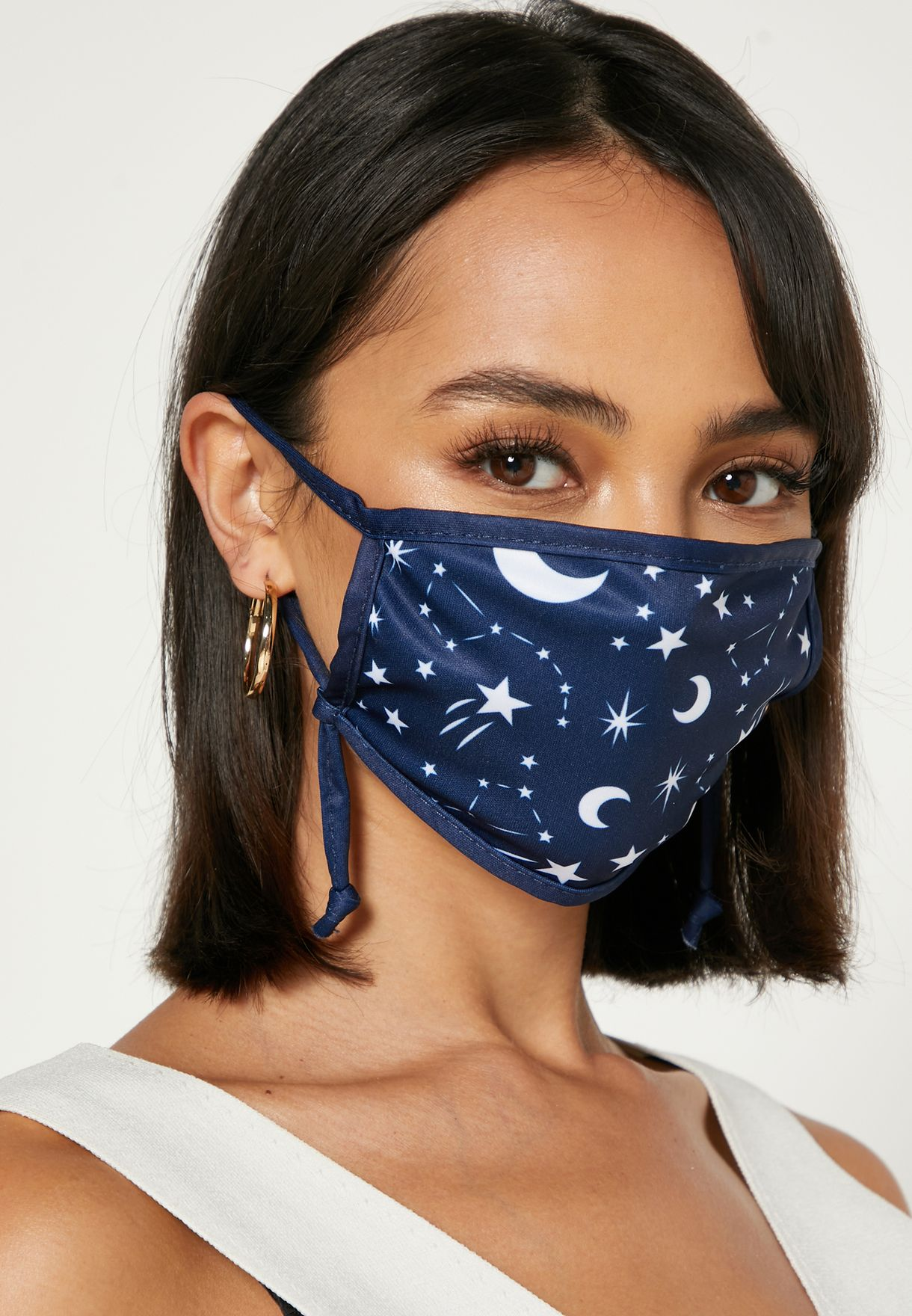 2 Pack Constellation Face Mask