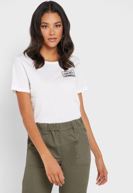 Cassette Short Sleeve T-Shirt