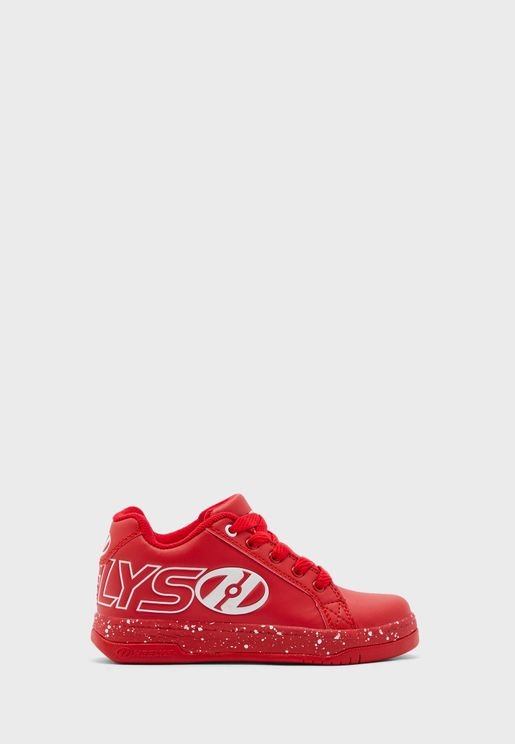 Youth Split Low Top Sneaker