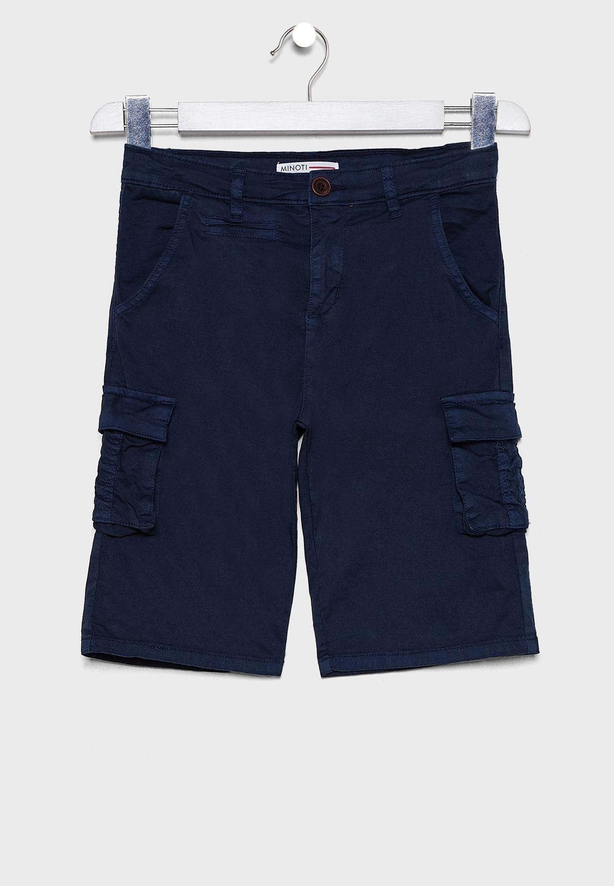 Teen Pocket Detail Shorts