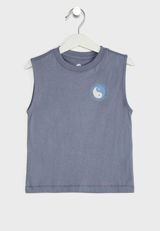 Kids Peace Sun Cle-Muscle