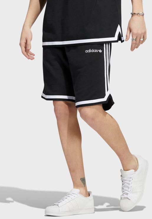 3 Stripe Pregame Shorts