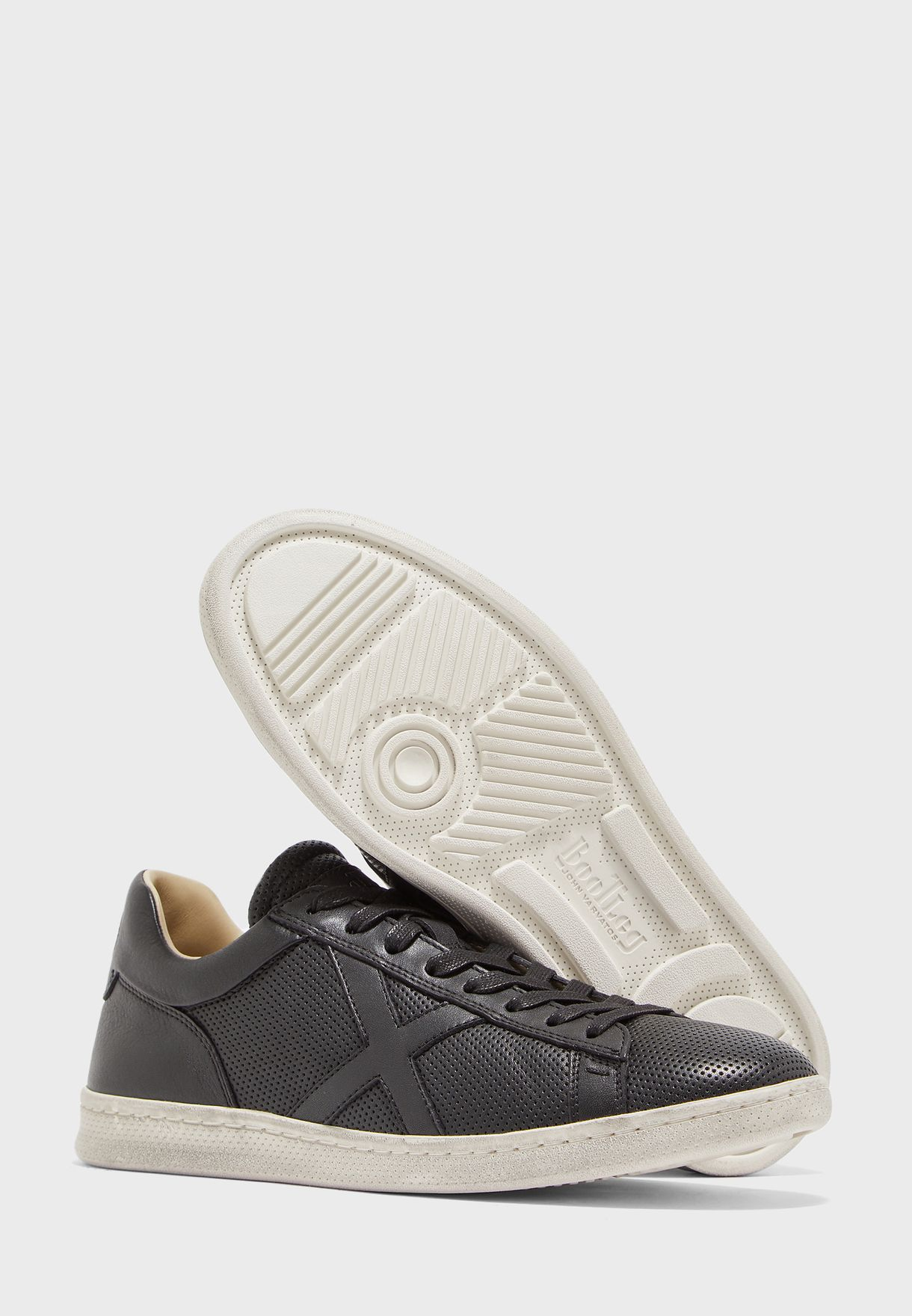 Tumbled Calf Sneakers