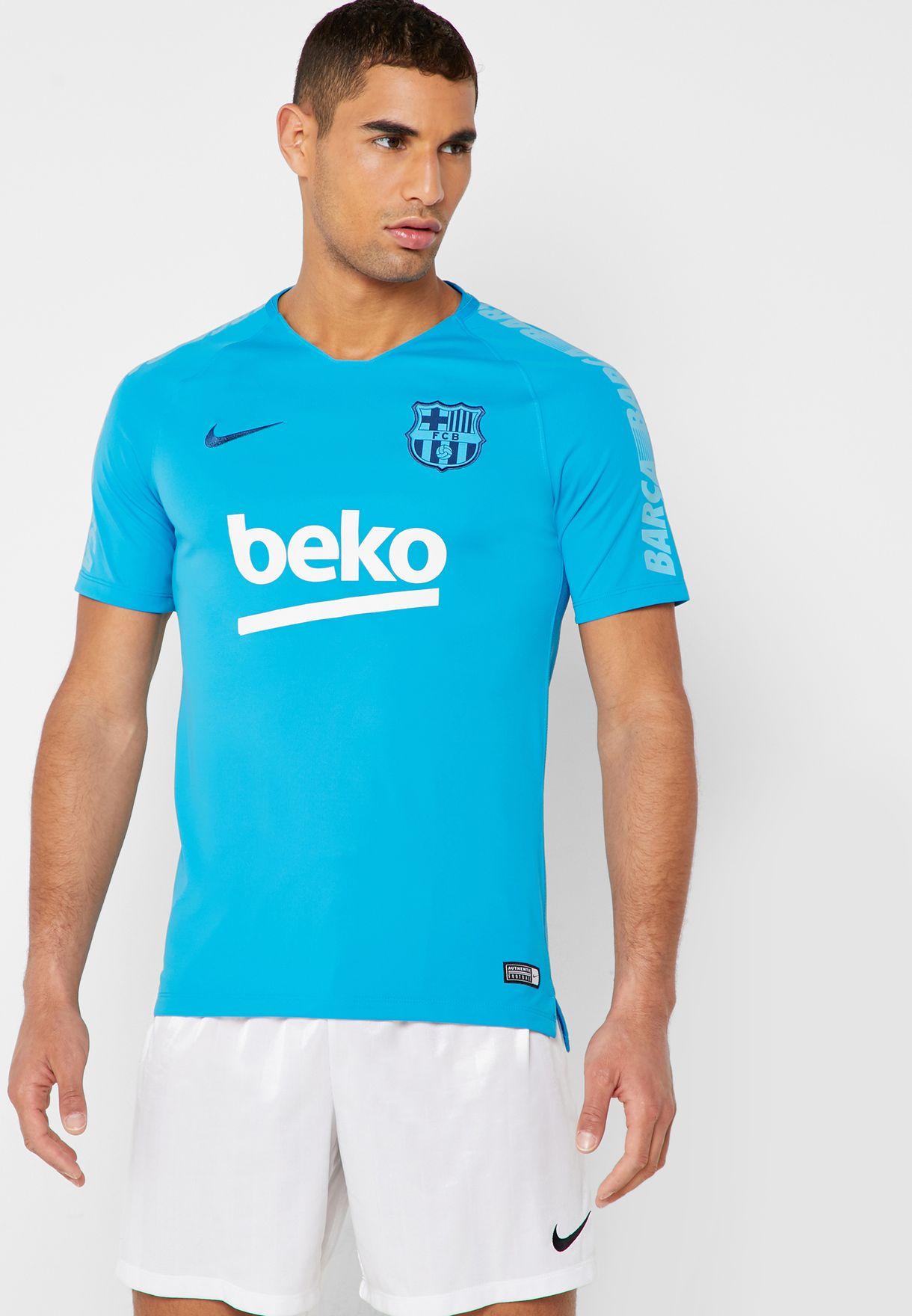 FC Barcelona Breathe Squad T-Shirt