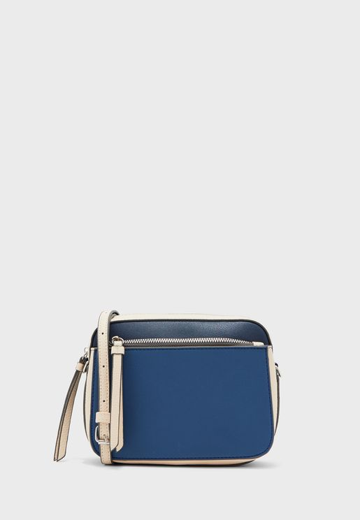 Colour Block Crossbody Bag