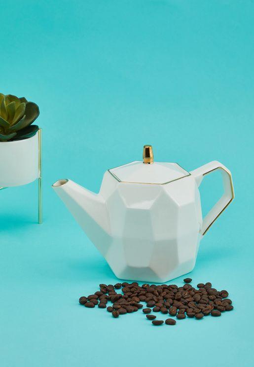 ابريق شاي من الزجاج