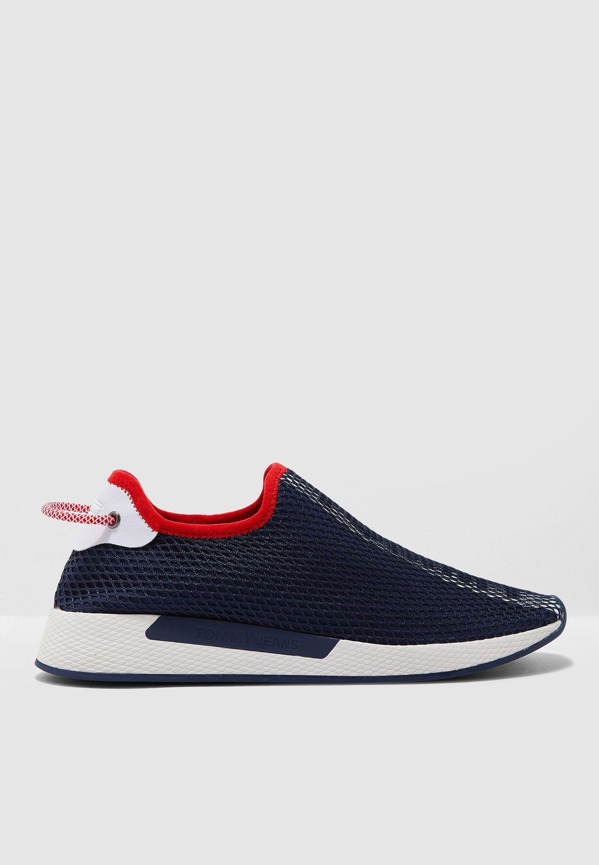 Technical Mesh Flexi Sneakers
