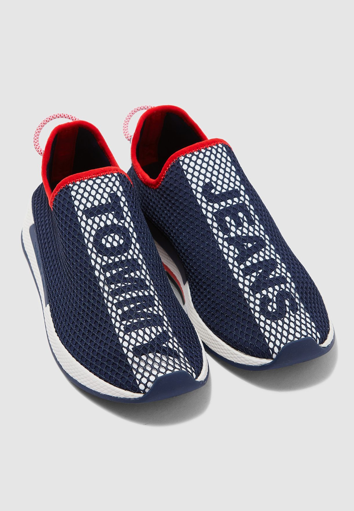 Technical Mesh Flexi Sneakers
