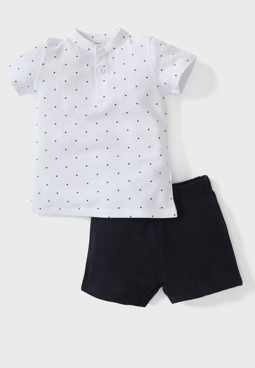 Infant Printed Casual Set
