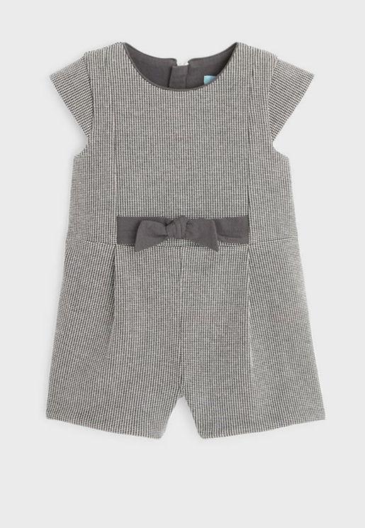 Infant Bow Detail Romper