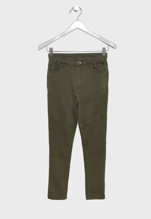 Kids Biker Trousers
