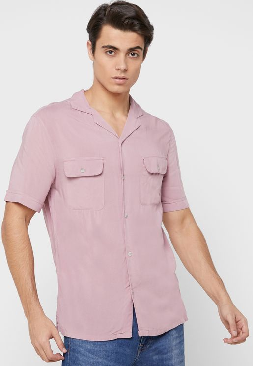 Pocket Detail Relaxed Shirt