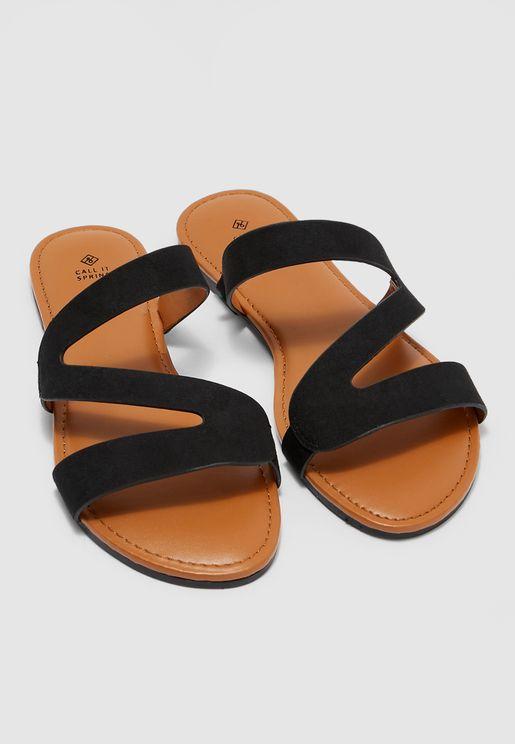 Roanne Flat Sandal