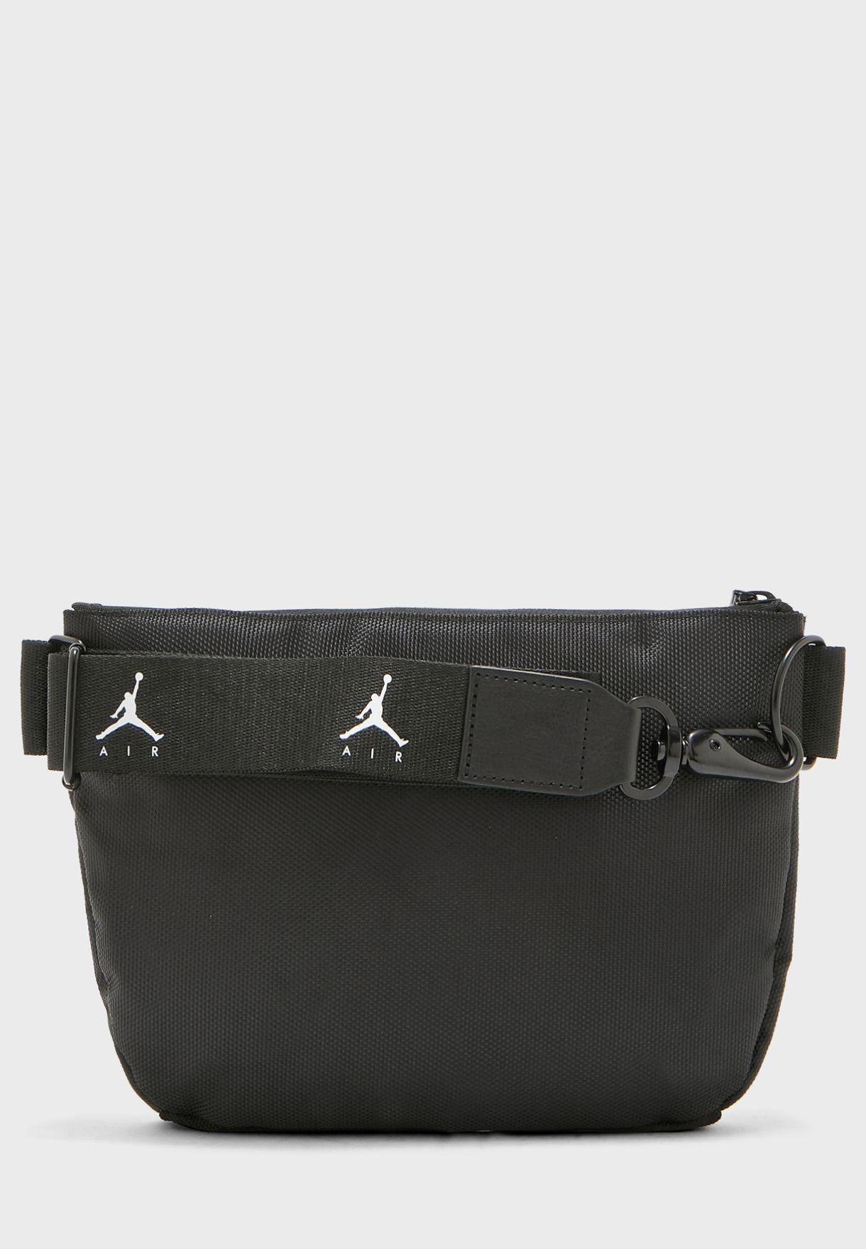 el mejor estilo clásico de 2019 zapatos deportivos Shop Nike black Jordan Air Belted Bag 9A0329-023 for Men in ...