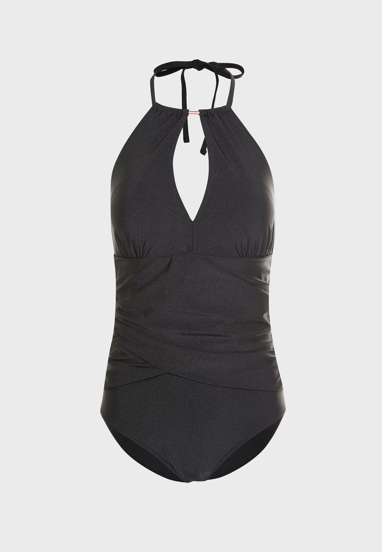 Font Split Swimsuit