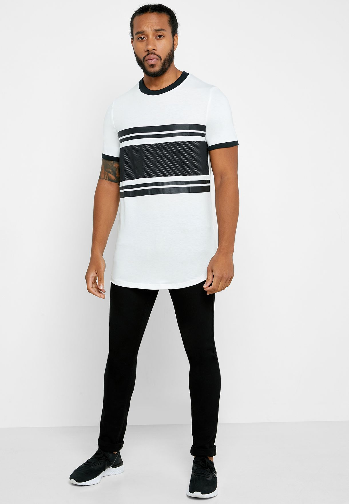 Fearless Slim Fit Crew Neck T-Shirt
