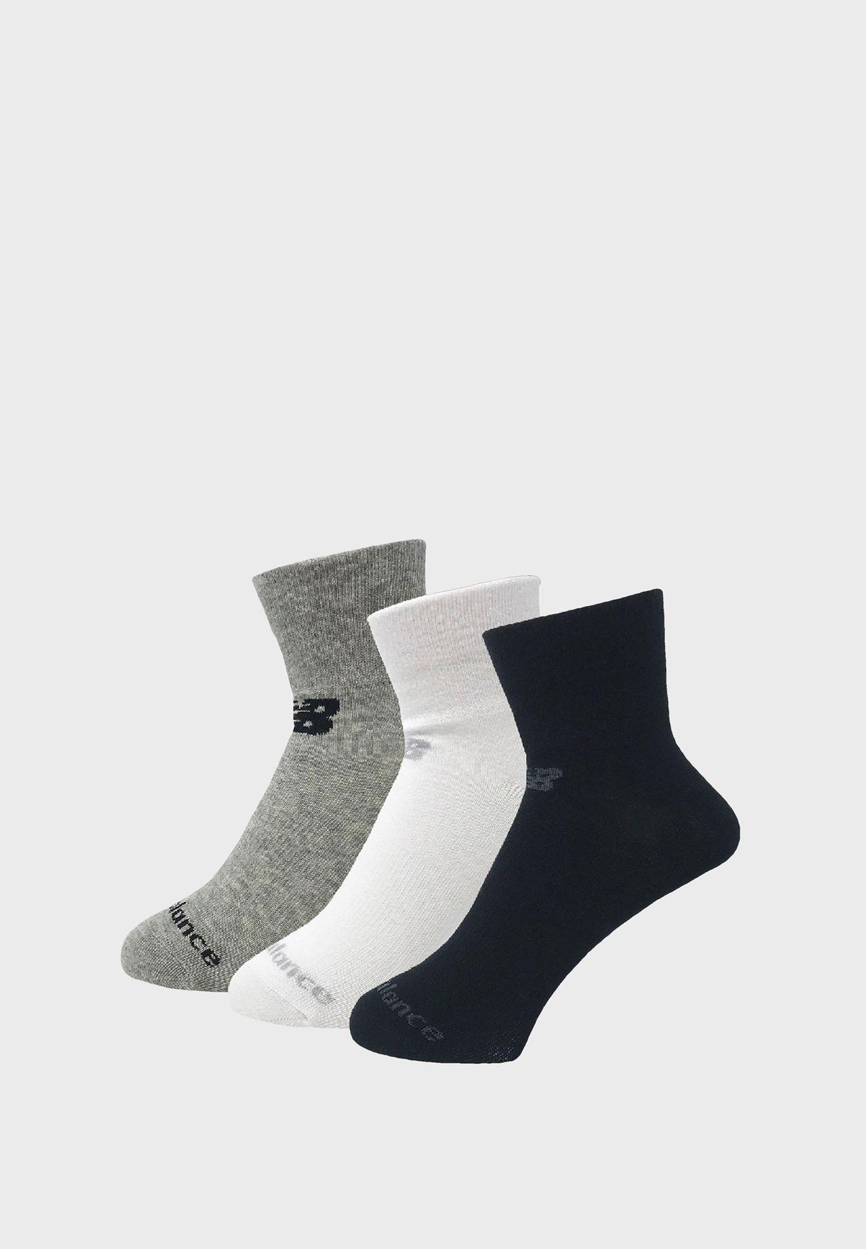 3 Pack Performance Ankle Socks