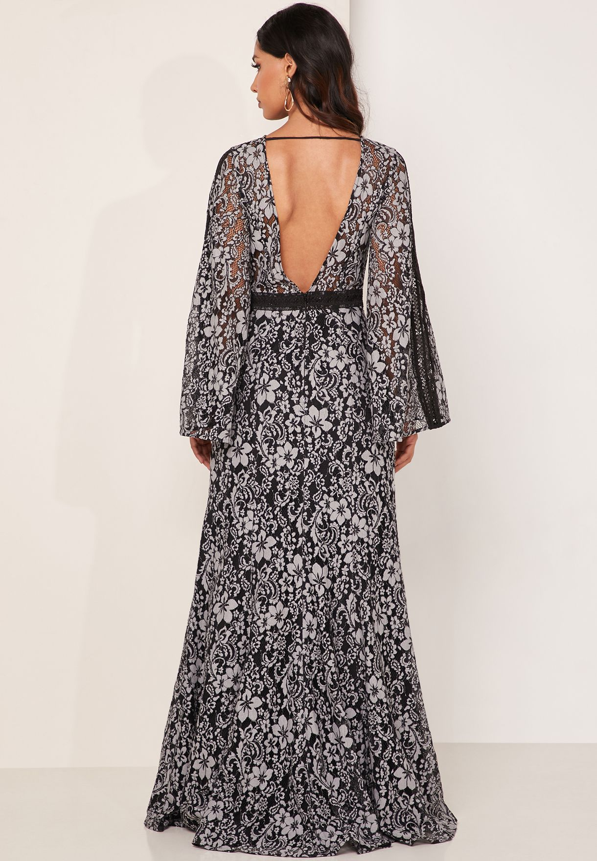 Holder Lace Detail Maxi Dress