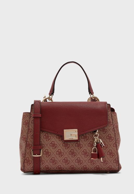 Valy Logo Printed Satchel