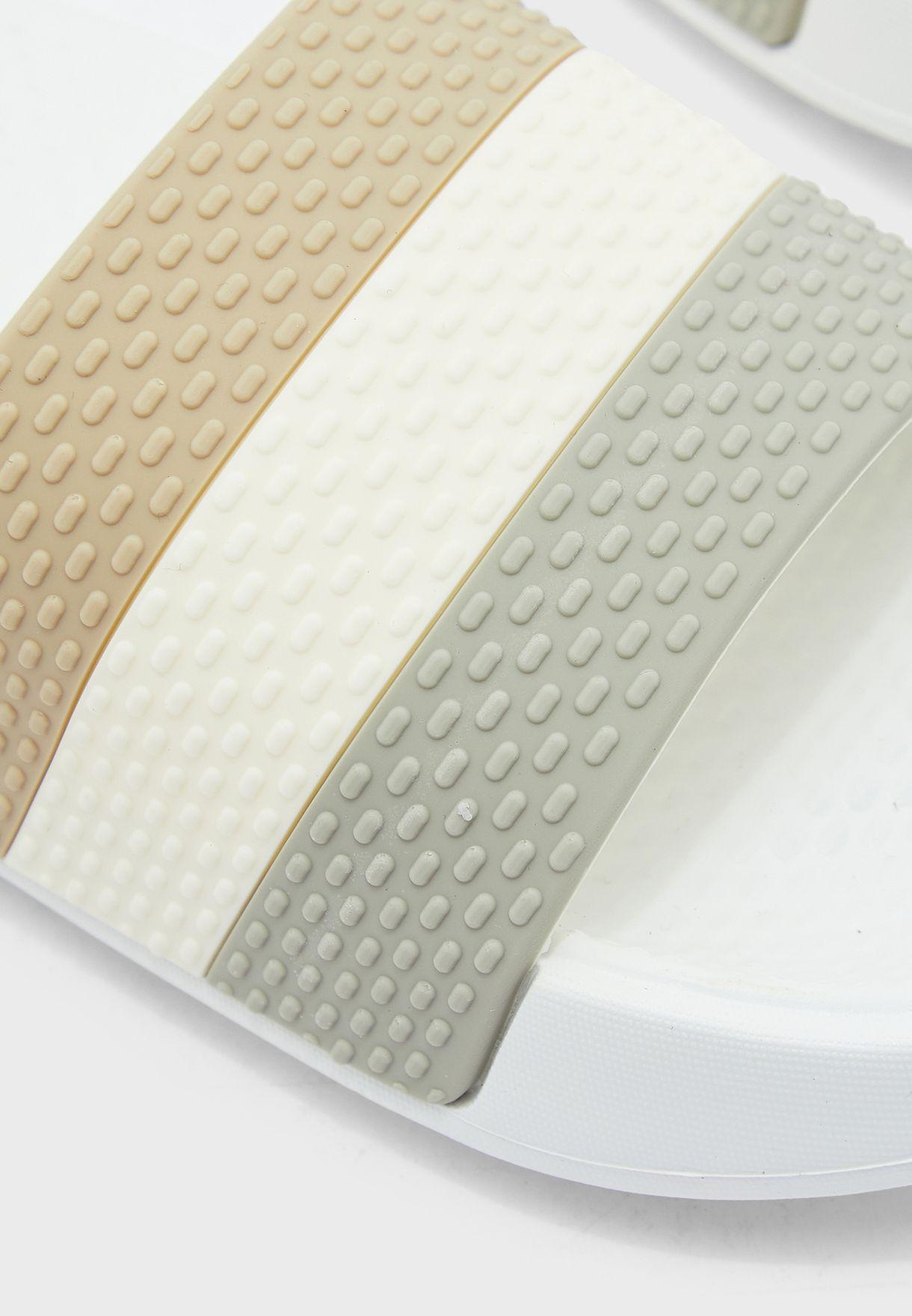 Textured Striped Sliders