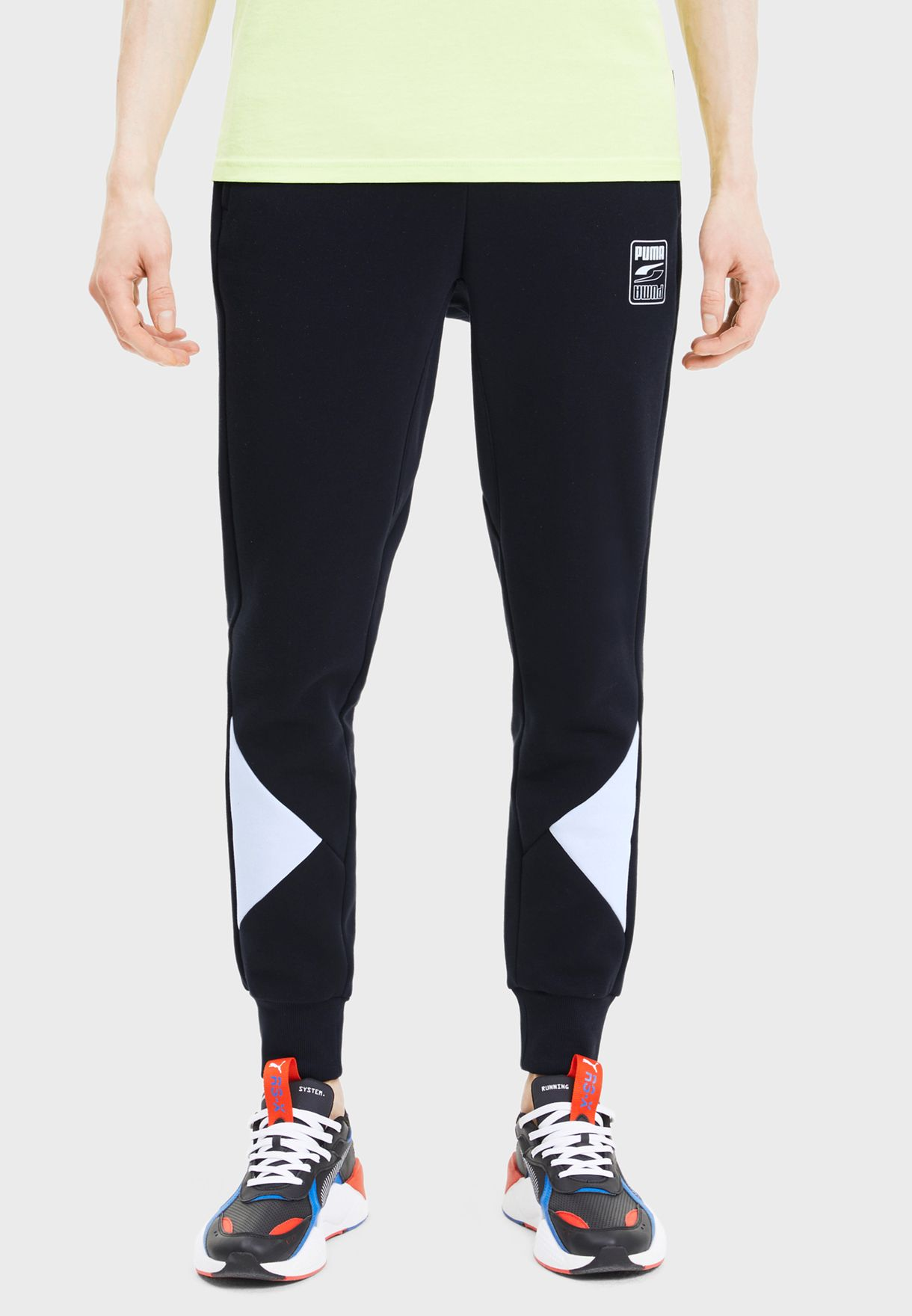 Reble Block Fleece Sweatpants