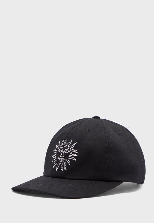 Sun Embroidery Baseball Cap