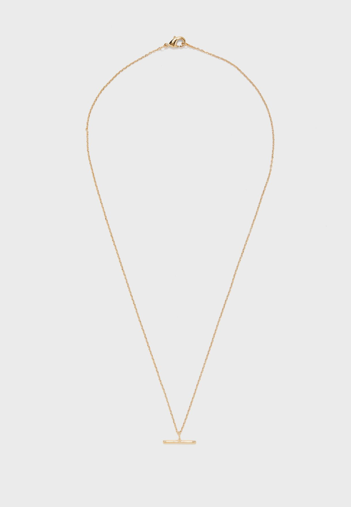 T-Bar Ditsy Necklace