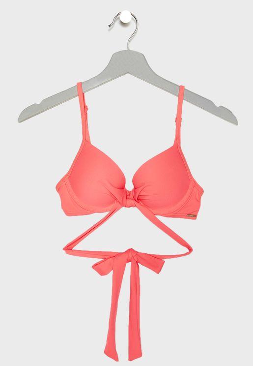 Santiago Strappy Bikini Top
