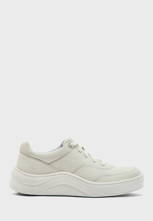 حذاء جلد اصلي بأربطة