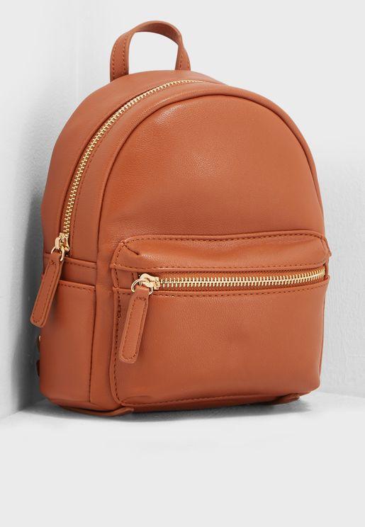 Dual-Zip Backpack