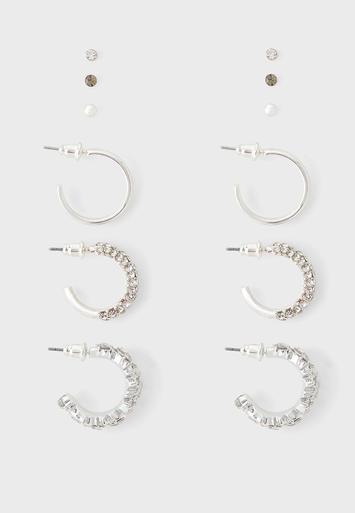 Bling Triple Multipack Earring