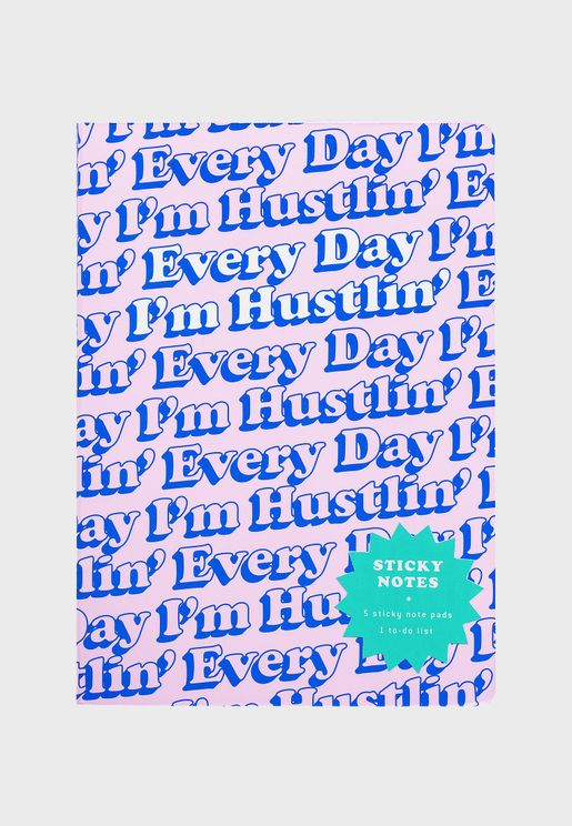Every Day Sticky Notes Book