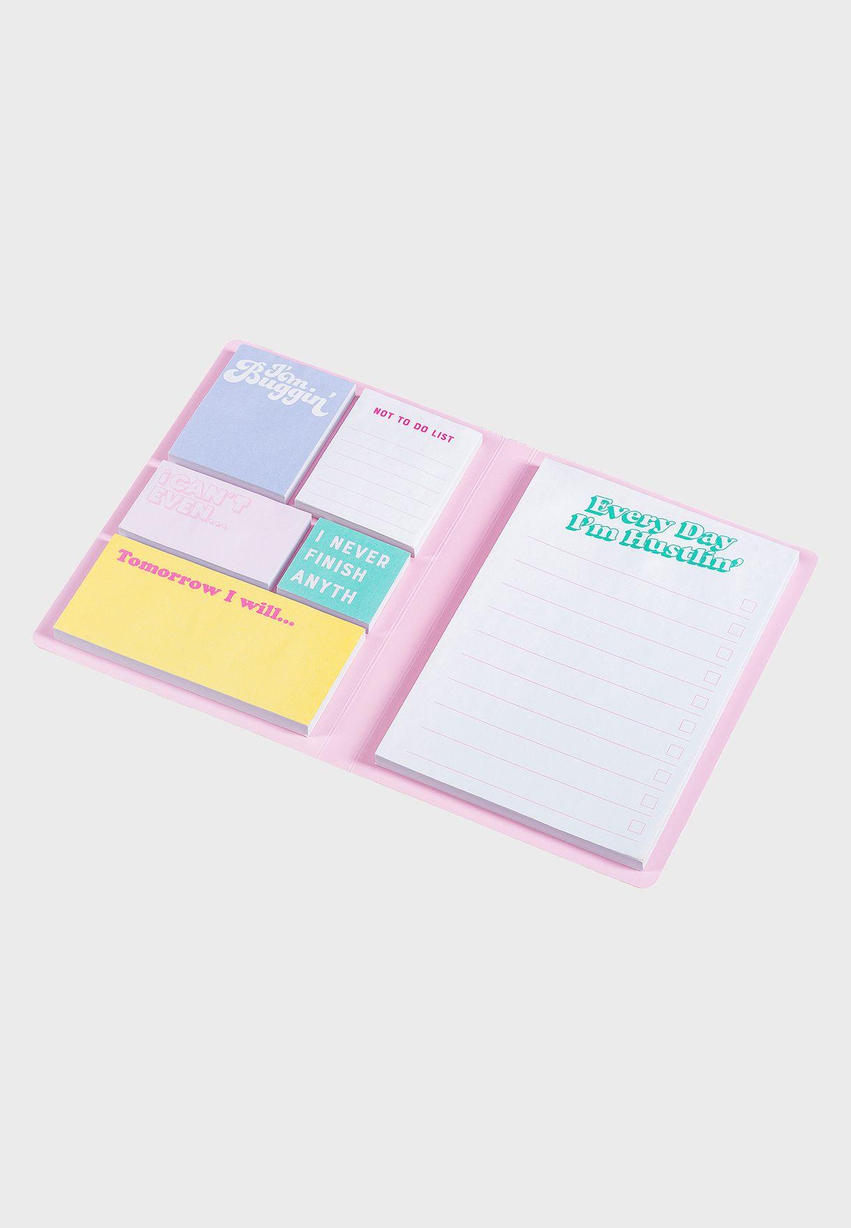 Every Day Sticky Notes Book