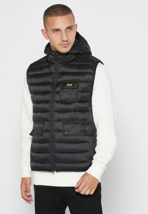 Ousten Hooded Gilet