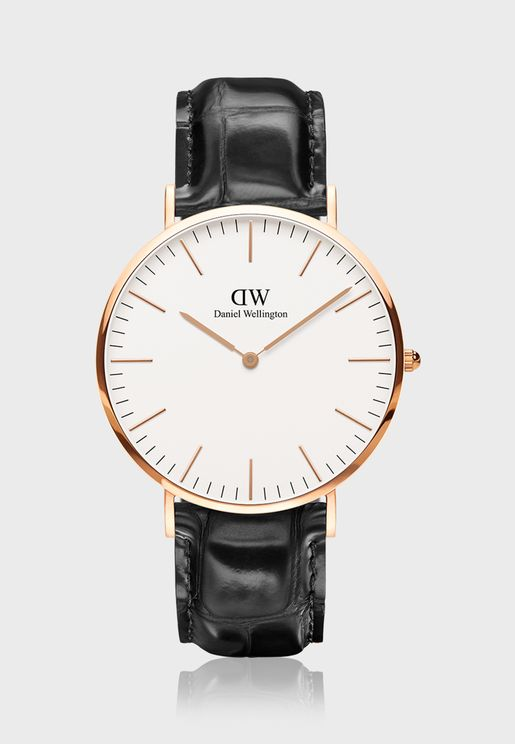Classic Reading RG White 40mm Watch