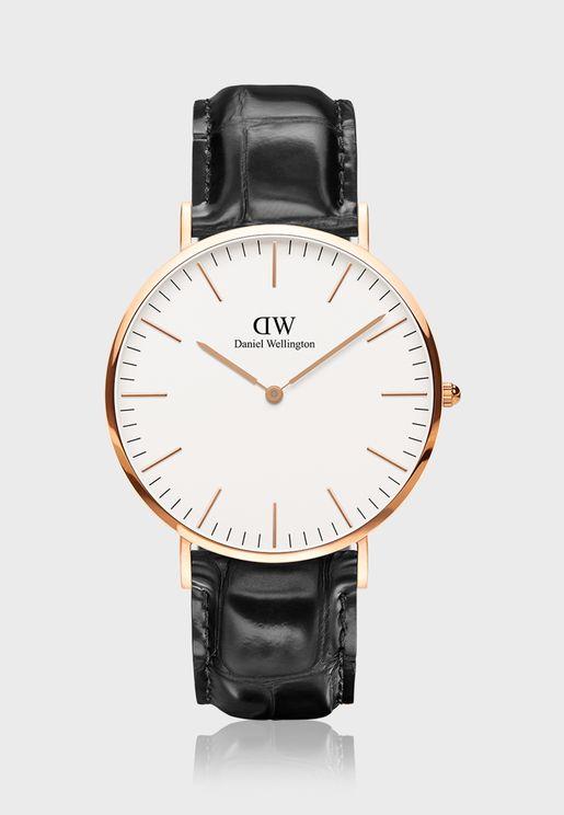 ساعة ريدنغ ار جي وايت الكلاسيكية 40 مم