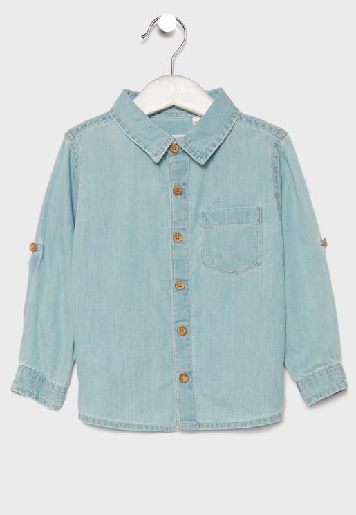 Infant Daniel Denim Shirt