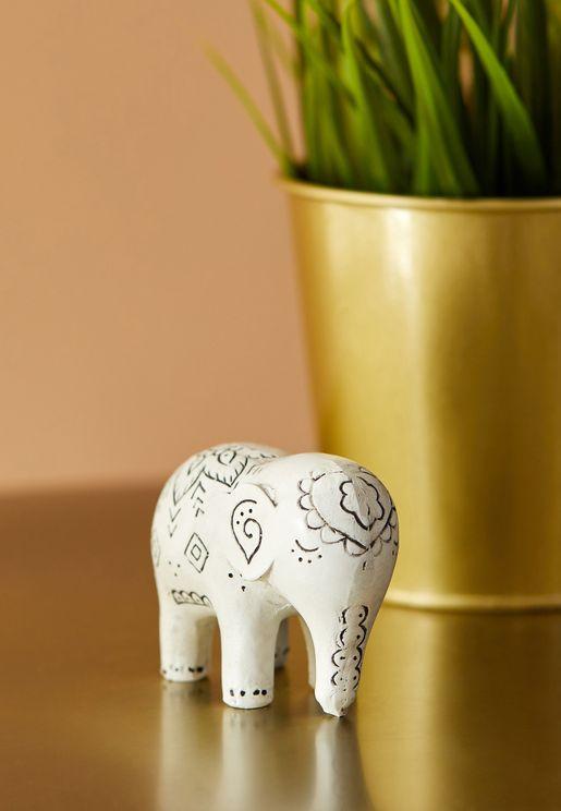 Spring Elephant Ornament
