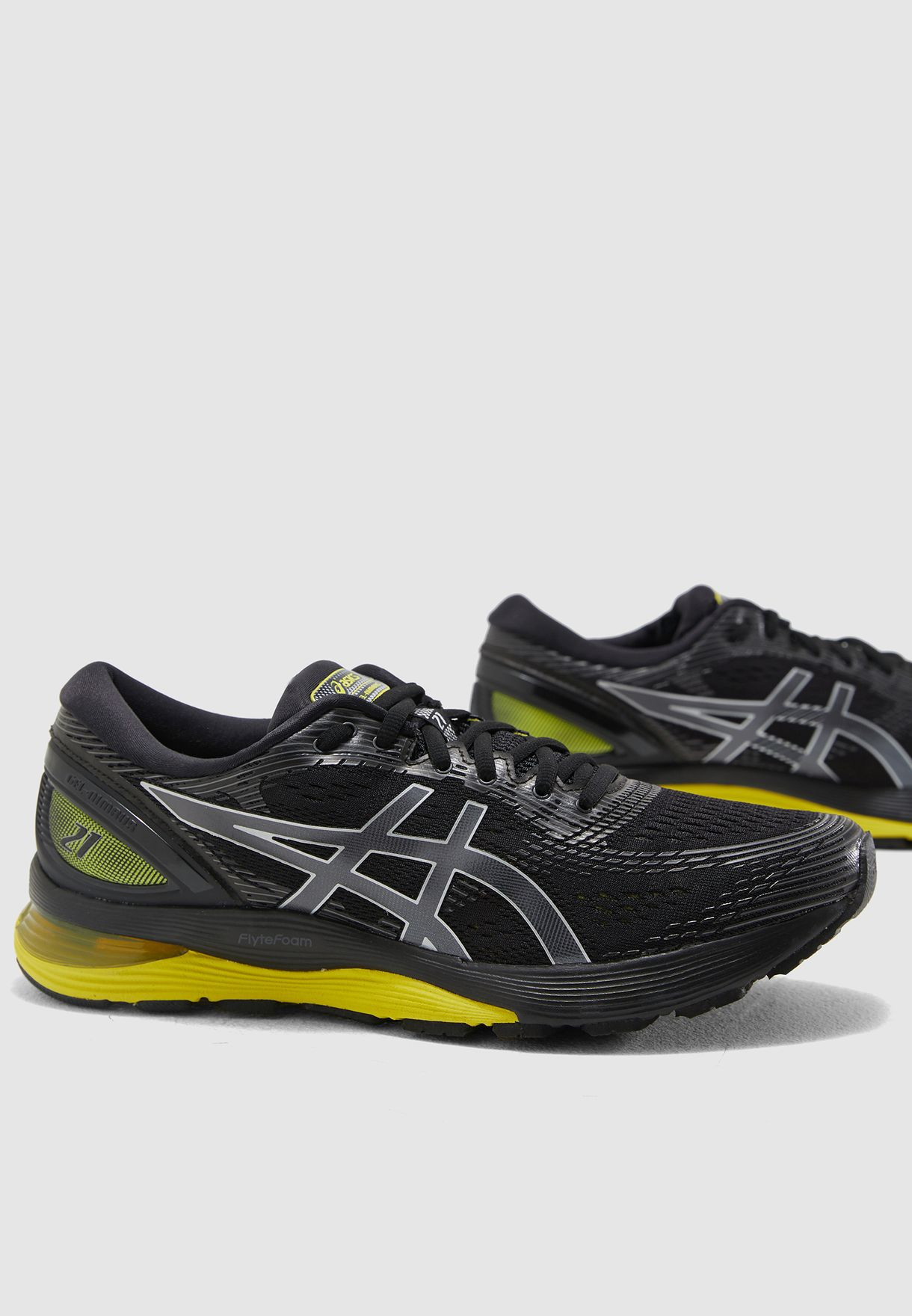7c03a41d4 Shop Asics black GEL-Nimbus 21 1011A169-003 for Men in UAE ...