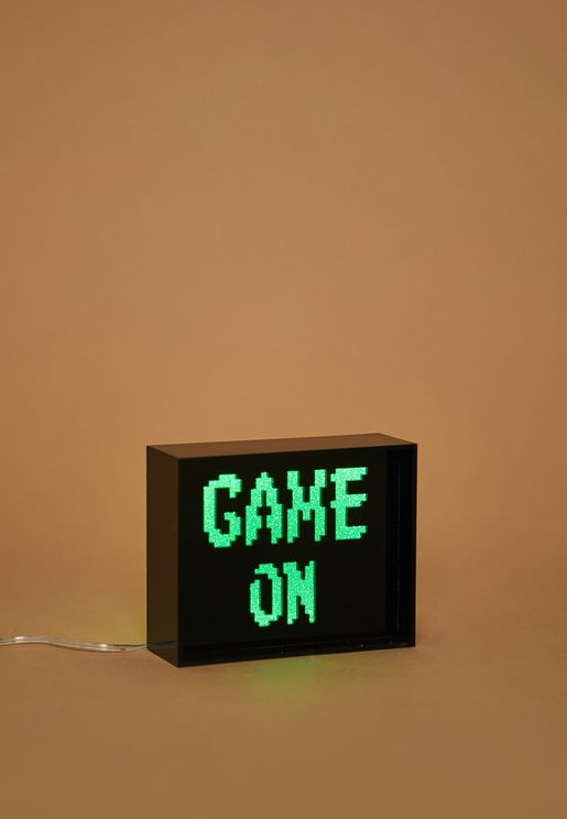 Mini Game On Acrylic LED Box