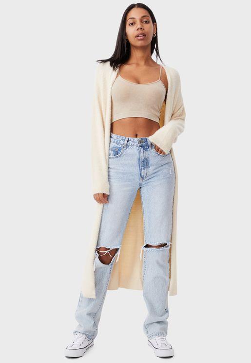 Longline Super Luxe Cardigan