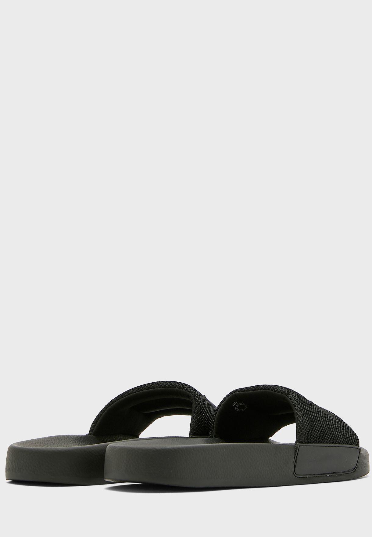 Shimmer Detail Slider - Nero