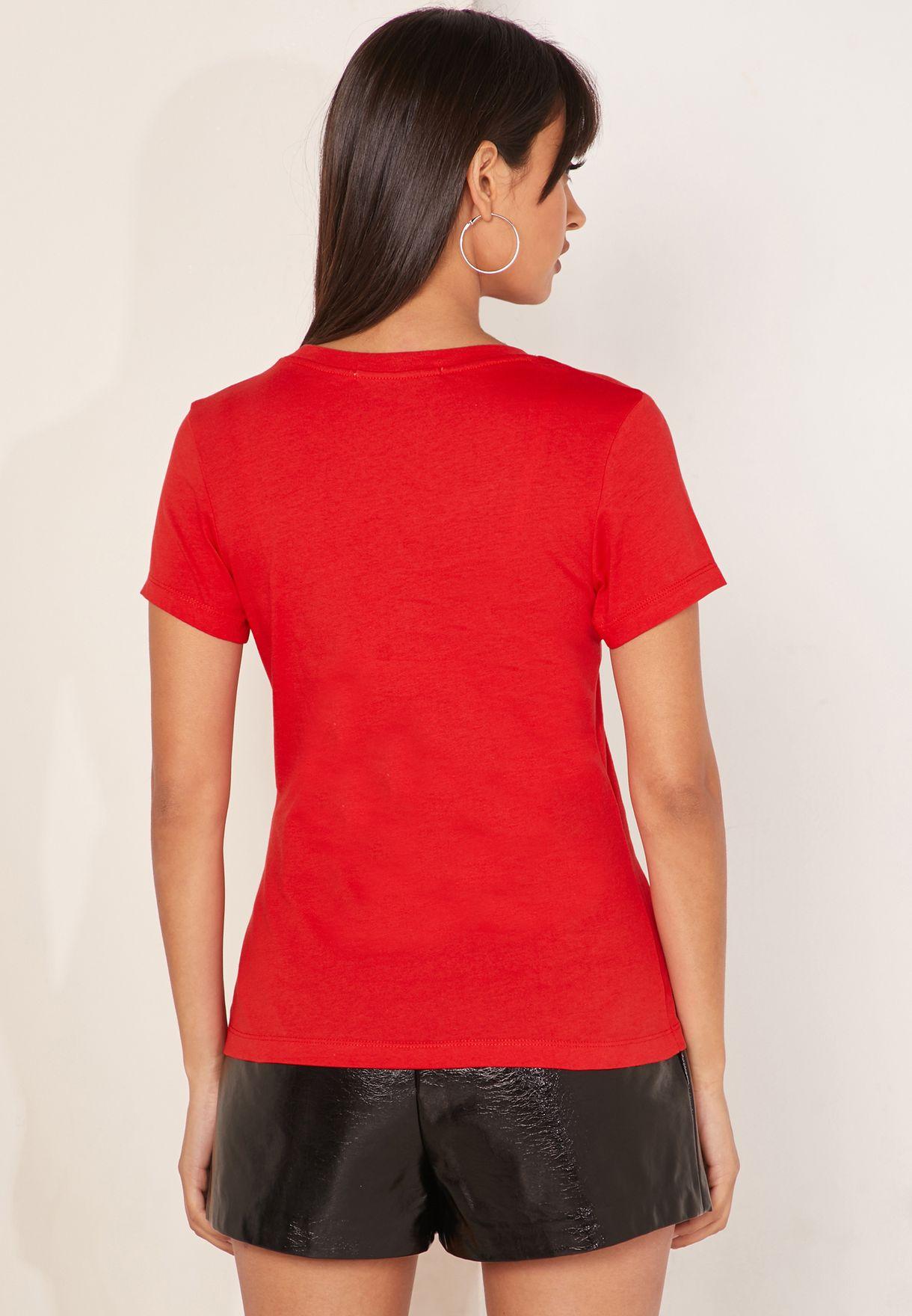 Longline Logo T-Shirt