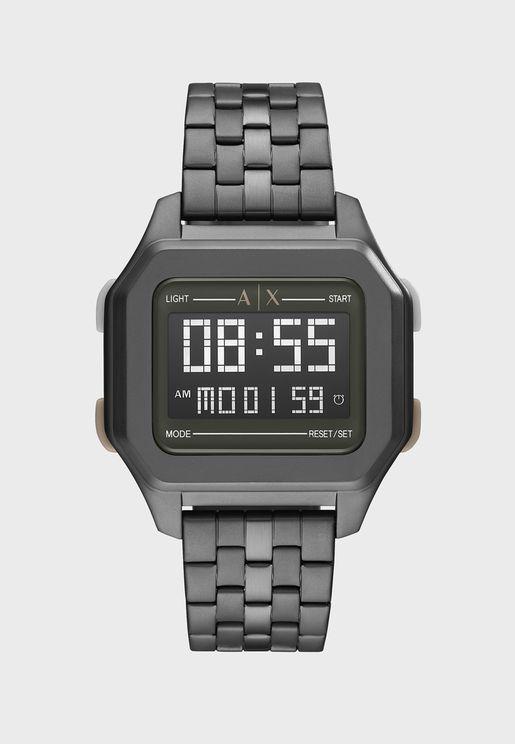 AX2951 Shell Digital Watch