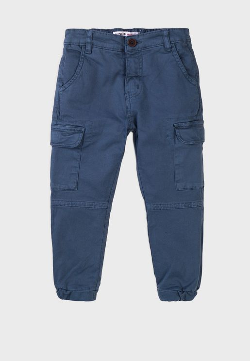 Kids Basic Combat Pants