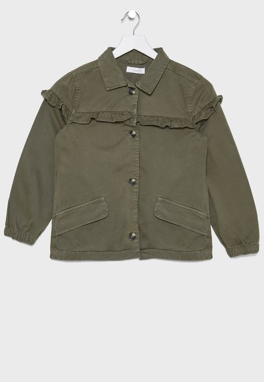 Kids Puff Sleeve Jacket