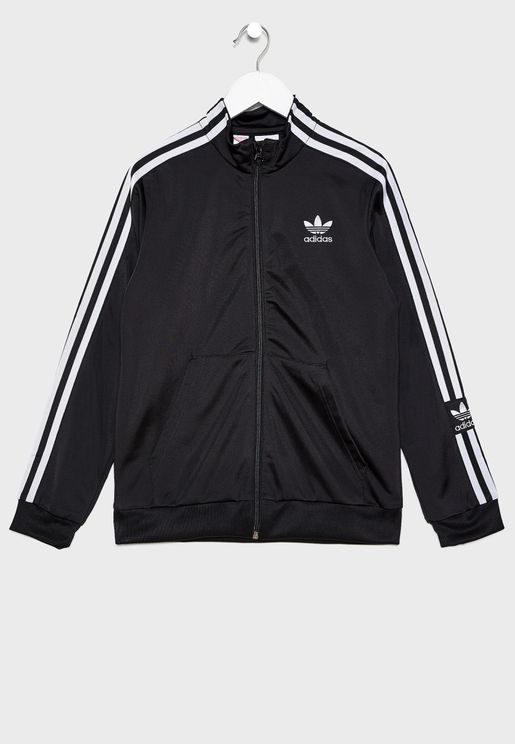 Youth Lock Up Track Jacket