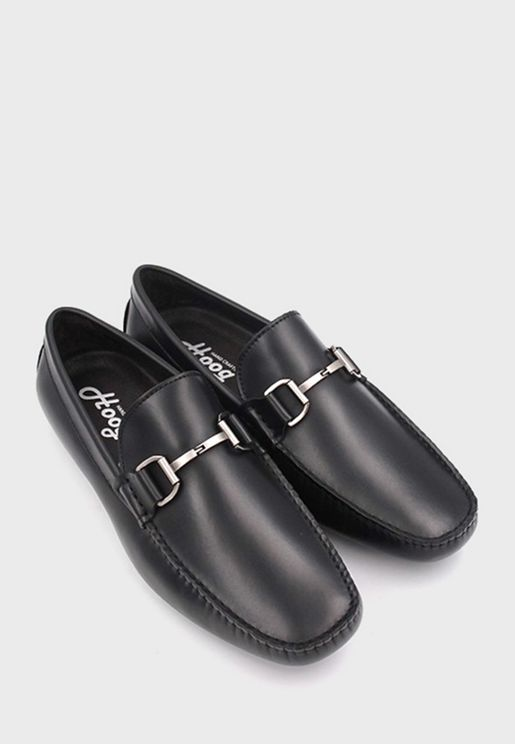 Penny Buckle Detail Loafer