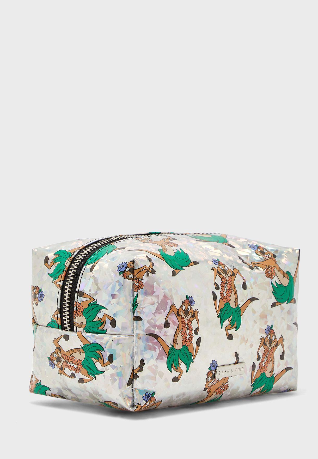 Disney Timon Lion King Makeup Bag